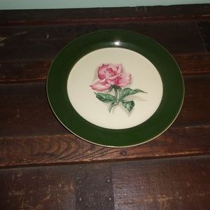 Taylor Smith And Taylor USA Rose Plate